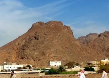 Gunung Uhud di Arab Saudi. Foto: On Earth