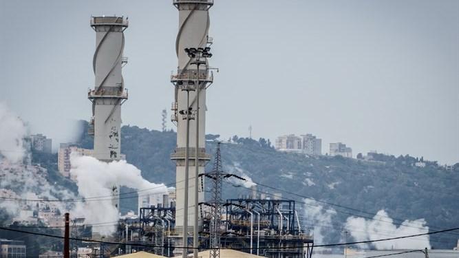 Pabrik penyumbang polusi di Israel. Foto: Israel National News