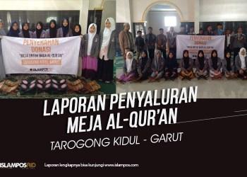 Islampos Aid Salurkan 22 Meja Al-Quran untuk Santri Rumah Harapan Bersama, Garut 2