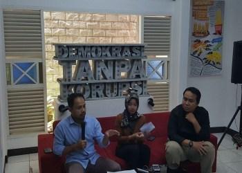 Diskusi Demokrasi Tanpa Korupsi di Sekretariat ICW, jalan Kalibata Timur IV D No. 6, Jakarta Selatan. Foto: Rhio/Islampos.