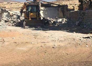 Buldoser Israel hancurkan rumah warga. Foto: PIC