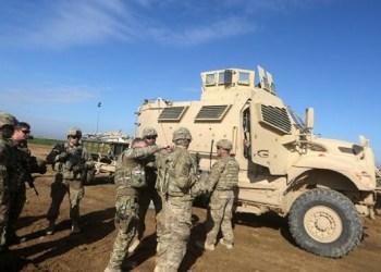 Tentara Amerika Serikat tengah beroperasi. Foto: Shabestan