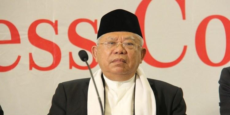 Ketua Umum Majelis Ulama Indonesia, KH Ma'ruf Amin.  Foto: Nu Online