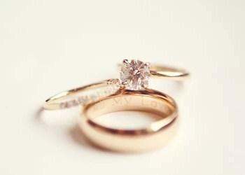 tukar cincin, Pernikahan