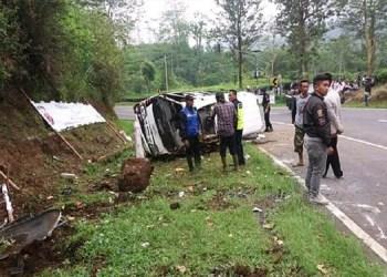 Kecelakaan di subang  Foto: Tribun