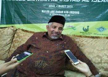 Ketua Umum PP Al-Irsyad Al-Islamiyyah Faisol Nasar bin Madi. Foto: Tommy/Islampos