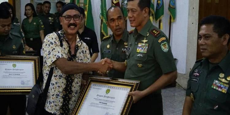Pangdam III Siliwangi Mayjen TNI Doni Monardo. Foto; Saifal/Islampos.
