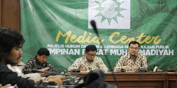 Wakil Ketua Majelis Hukum dan HAM Pimpinan Pusat Muhammadiyah Maneger Nasution. Foto: Rhio/Islampos