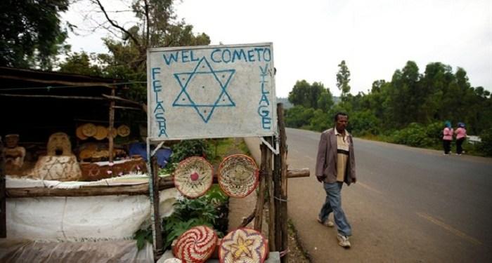 Kampung Yahudi Falasha di Ethiopia. Foto: Tiksa Negeri   Yeni Safak