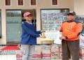 Taklim Jurnalistik Serahkan Bantuan untuk Korban Gempa dan Tsunami di Palu melalui SAR. Foto: Istimewa
