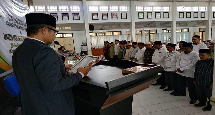Pelantikan Pengurus Daerah Dewan Dakwah Pidie periode 2018-2021. Foto: Istimewa