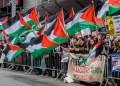 Ilustrasi mendukung Palestina. Foto: Alaraby