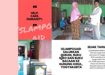 IslamposAid Salurkan Quran, Buku Iqro dan Buku Bacaan ke Gunung Kidul, Yogyakarta 1