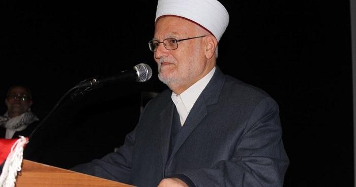 Khatib al-Aqsha syekh Ikrimah Shabri. Foto: PIC