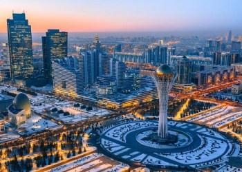 Pemandangan kota Nursultan, Kazakhstan. Foto: The National