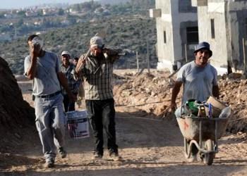 Para pekerja Palestina di Israel. Foto: Palinfo