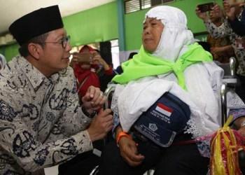 Menteri Agama dan jamaah haji. Foto: Rhio/Islampos
