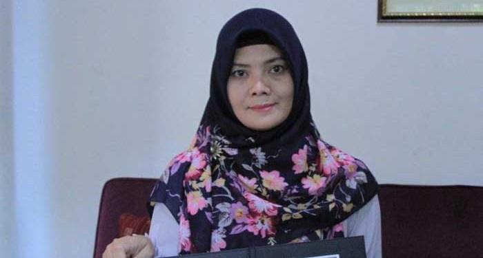 Neuis Marpuah, ibu korban jatuhnya pesawat Lion Air di perairan Karawang. Foto: Detik