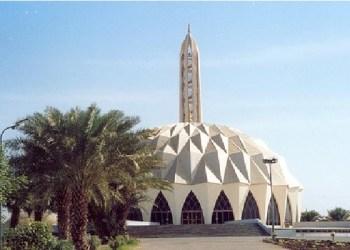 Masjid El Nilein, Sudan. Foto: Mapio