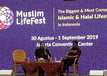 Talkshow properti syariah di Muslim Lifefest. Foto: Istimewa