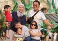 Keluarga Hanung Braantyo-Zaskia Adya Mecca. Foto: Instagram Zaskia Adya Mecca