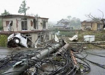 Topan ganas 'hagibis' menghantam wilayah Jepang. Foto: NHK