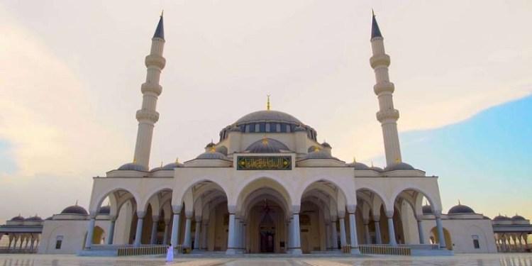 Masjid Sharjah. Foto:  Pro AVL Central