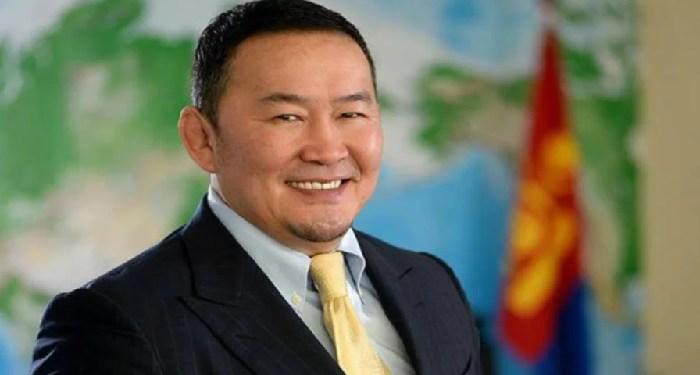 Presiden Mongolia, Khaltmaagiin Battulga. Foto:  New Straits Times