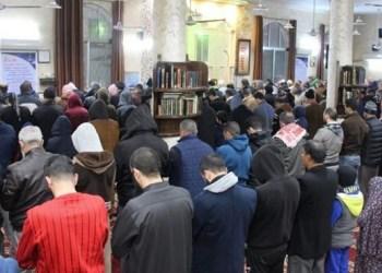 Muslim Yordania gelar subuh akbar. Foto: PIC
