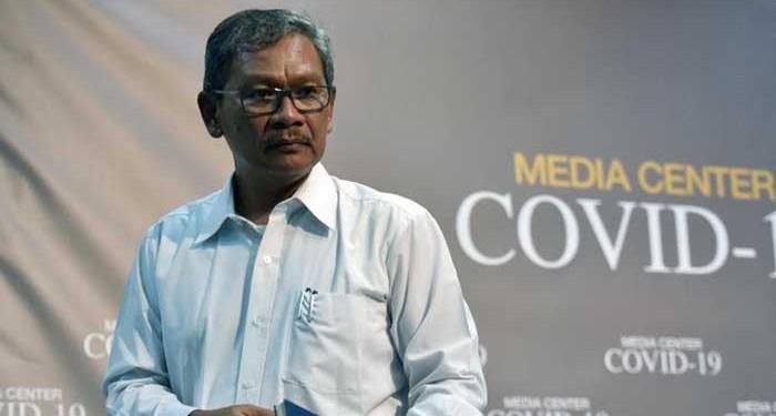 Juru bicara pemerintah untuk urusan virus Corona, Achmad Yurianto. Foto: Detik