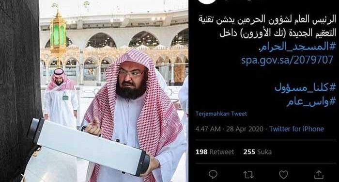Foto: Twitter Saudi Press Agency @SPAregions/Ka'bah