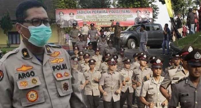Kepala Biro Penerangan Masyarakat (Karo Penmas) Divisi Humas Polri Brigjen Argo Yuwono  di Setukpa Polri Sukabumi. Foto: Tribunnews