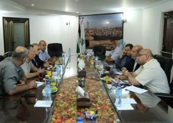 Delegasi Hamas dan Fatah bertemu. Foto: PIC