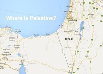 Palestina tidak ada di Google Maps. Foto: Wafa