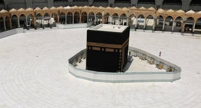 Masjidil haram tutup saat Idul Adha. Foto: Reuters