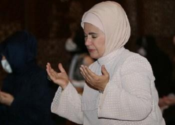 Emine Erdogan masuk dalam daftar 10 Muslim paling berpengaruh di dunia. Foto: Yeni Safak