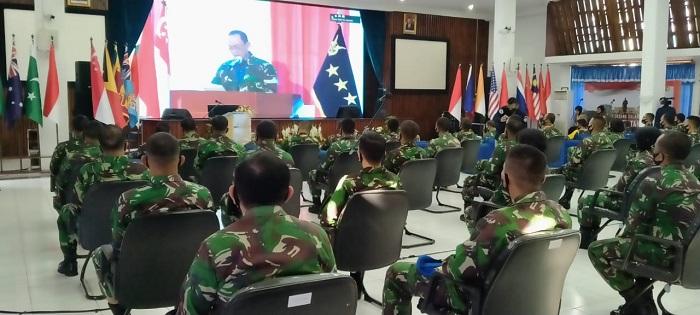 Program Kegiatan Bersama Kejuangan (PKB Juang) Tahun 2020 dibuka pada Senin, (7/9/2020). Foto: Islampos/Saifal