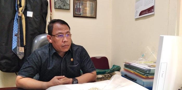 Ketua prodi KPI Pascasarjana UIN Bandung Dr. H. Zaenal Mukarom, M.Si. Foto: Saifal/lslampos