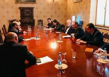 Delegasi Palestina bertemu delegasi Rusia. Foto: PIC