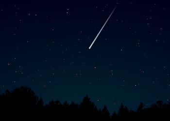 Ilustrasi bintang jatuh. Foto: Bobo