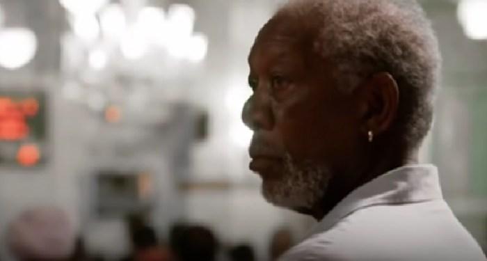 Morgan Freeman. Foto: Tangkapan Layar dari You Tube Islam Chanel
