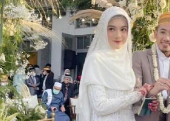Pernikahan Ustaz Syam. Foto: Instagram Oki Setiana Dewi