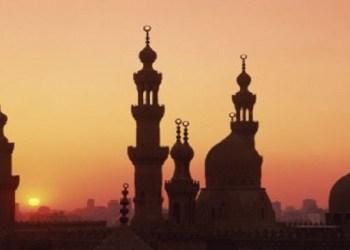 Ilustrasi menara masjid