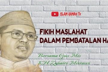 Fikih Maslahat dalam Pembatalan Haji-IslamRamah.co