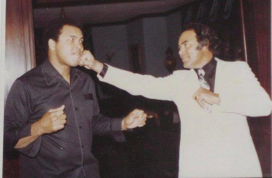 Late Pakistani Actor Sultan Rahi With Muhammad Ali