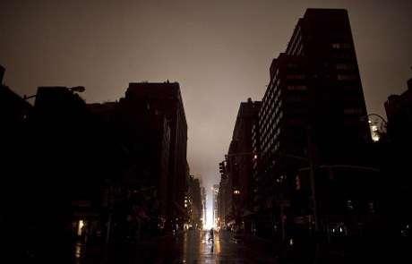 Manhattan gelap gulita. Photo, Detiknews