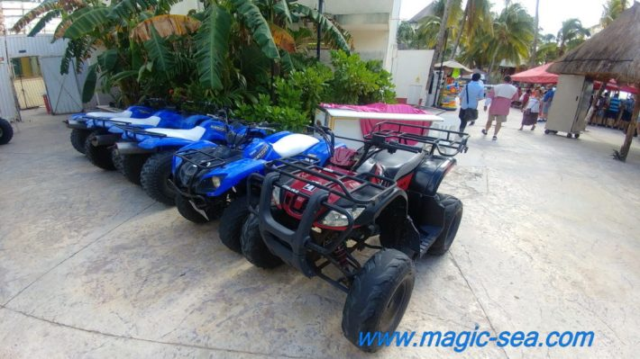 ATV at Beach Club Isla Mujeres