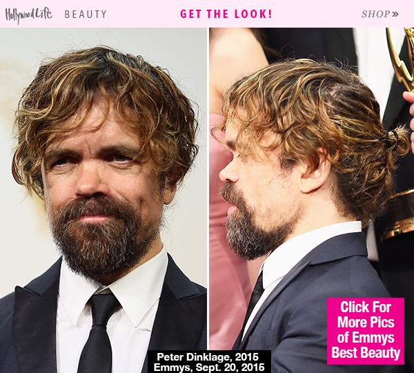 peter-dinklage-man-bun-emmys-2015-award-beauty-gty-lead
