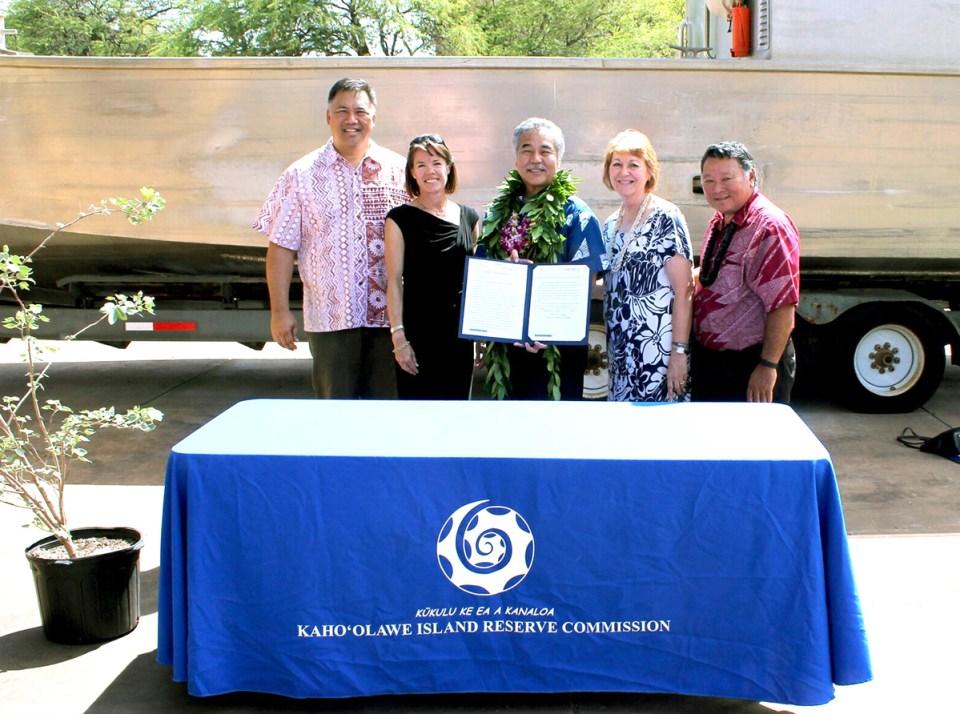 Island Conservation science hawwaii kaho'olawe KIRC