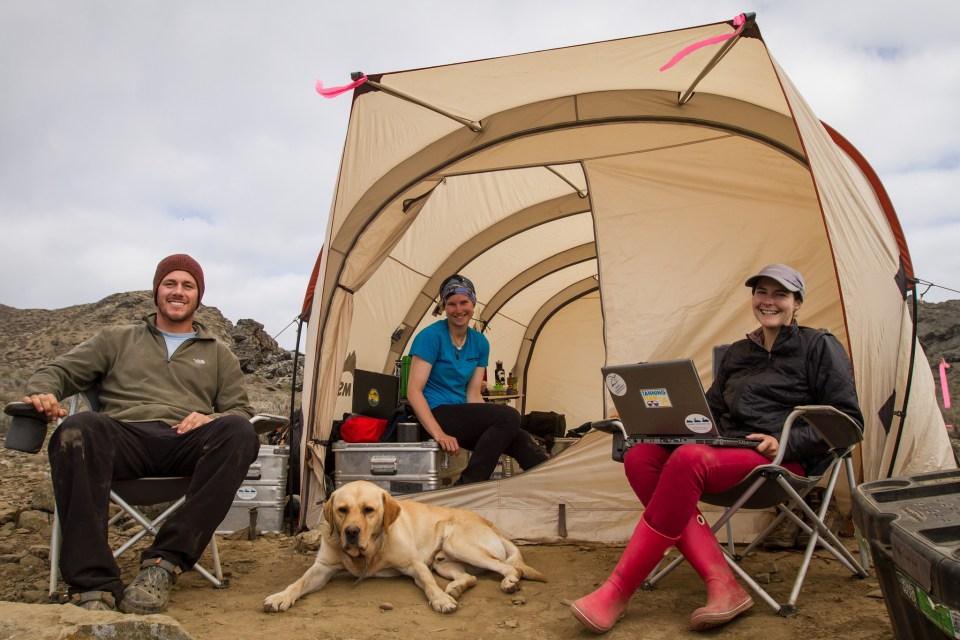 Island Conservation Science Staff on Choros